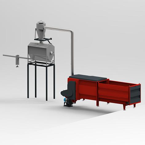Broyage et distribution automatisés - Ligne Paille Agri 1500 - GPM SPREAD