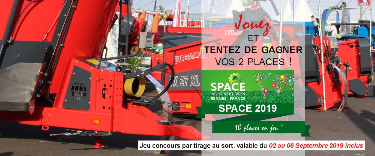 JEU CONCOURS – SPACE 2019
