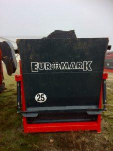 Porte arrière hydraulique - 1200kg