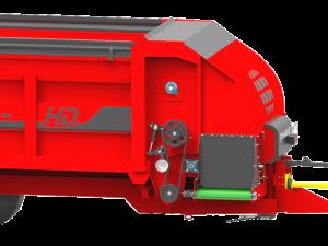 remorque distributrice EUROMARK avec système POWERDRIVE